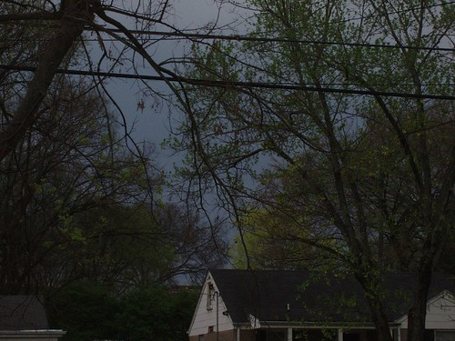 Tornado Warning - Ominous Sky