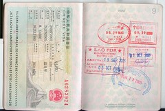passport pages 8-9