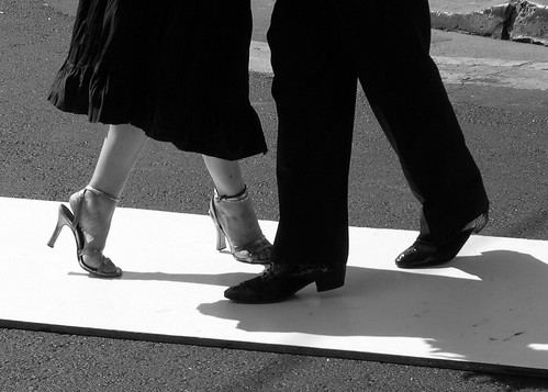 Tango Dancers in San Telmo