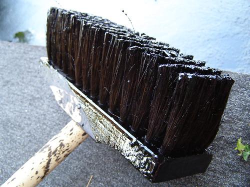 Tar Broom by Flickr user erix!