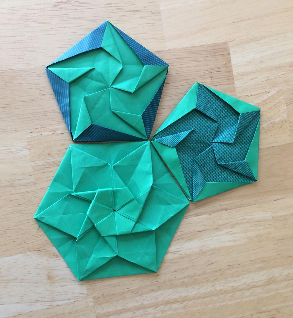 medium resolution of diy origami hexagonal box easy mycrafts com