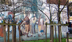 Trade Union mural, Islington