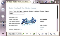 editing my radio userland instiki from my 770
