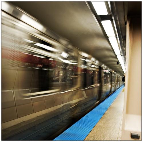 Station hopping shuffle
