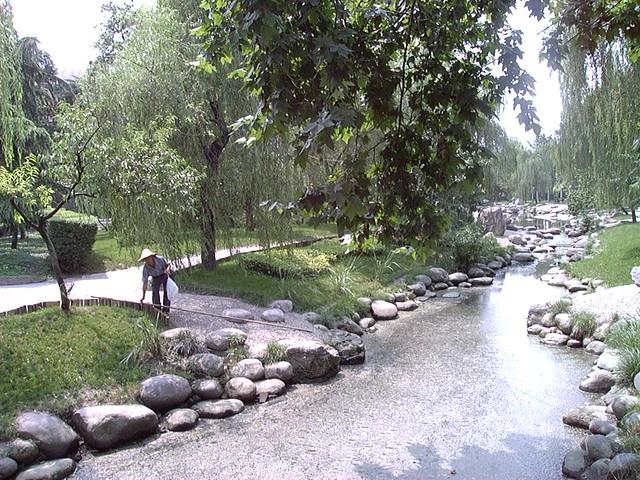 Tending the public garden