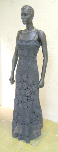 Gorgeous Crochet Gown by OutsaPop Trashion