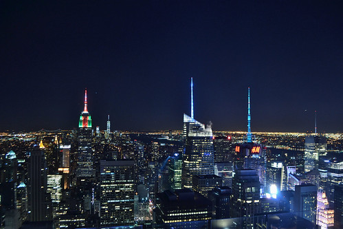 View of New York City from the rooftop of 30 Rockefeller Center (New York)