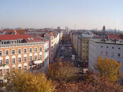 Berlin Germany view from the Zion Church von Ihnen.