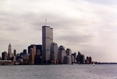 World Trade Center: View from Jersey City