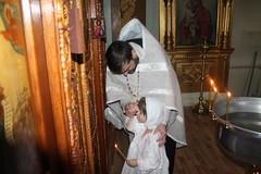 Крещение детей из приюта