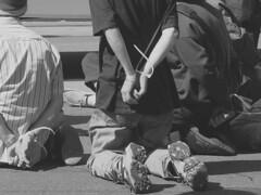 Antiwar protests in san Francisco - 2003