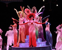 """A scene from the 2010 Music Circus production of """"42nd Street"""" at the Wells Fargo Pavilion August 24-29.  Photo by Charr Crail."""
