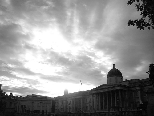 Cloudburst, the National Gallery