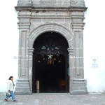 """Entrance to Acambaro Church <a style=""""margin-left:10px; font-size:0.8em;"""" href=""""http://www.flickr.com/photos/36521966868@N01/4607846/"""" target=""""_blank"""">@flickr</a>"""