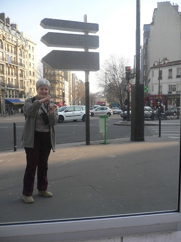 Mirror in Montparnasse