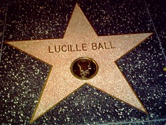 Lucille Ball Hollywood Star