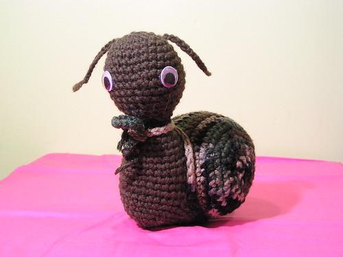 A snail I made