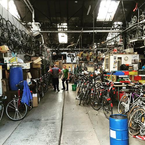 #Fahrräder für #Afrika @ #Wagenhallen #0711 #Stuttgart  #FahrräderfürAfrika #bike #fahrrad