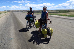 Bikers on the Continental Divide