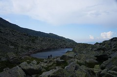 Sacagii la lacul Mandra