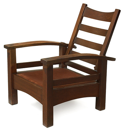 Morris chair by L. & J. G. Stickley