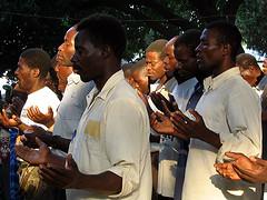 Pastors in worship