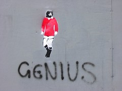 George Best Genius by sahmeepee