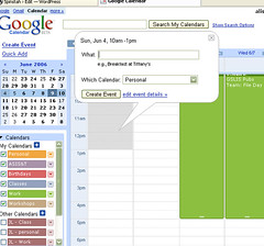 Google Calendar - add an event