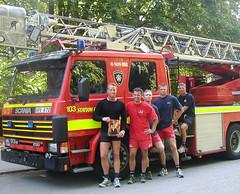 #4 Jogging fireman and a calender