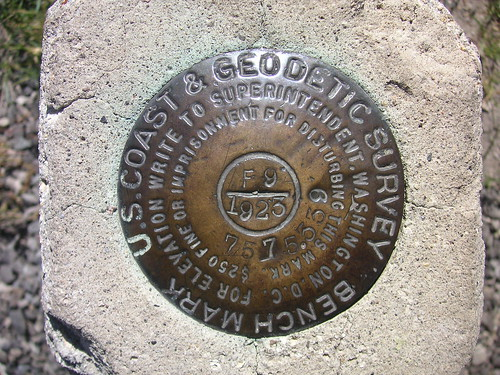 Survey Marker by blmurch (flickr)