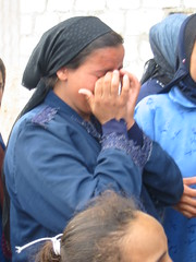Peasant Woman Weeping While Recounting the Sta...
