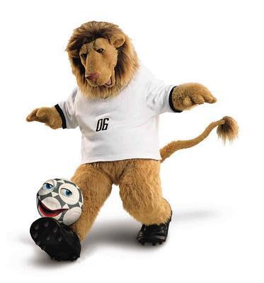 Mascota World Cup 2006 Germania