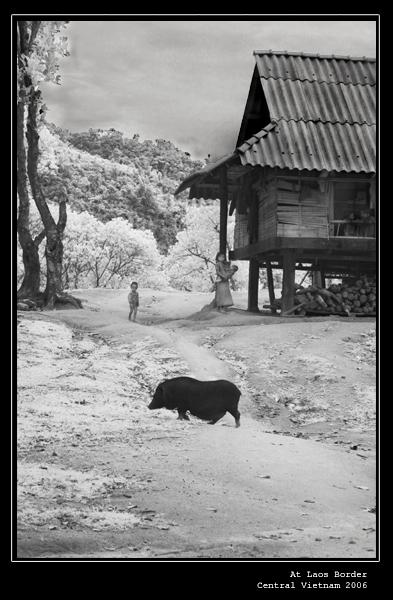 The village at laos border