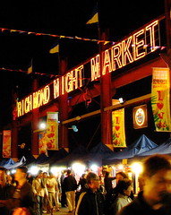 Richmond City Market in action