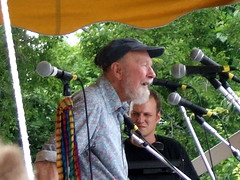 Pete Seeger at the Clearwater Festival