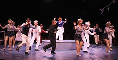 The Company of Anything Goes at Music Circus July 26-31. Photo by Charr Crail.
