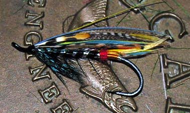Black Doctor Atlantic Salmon Fly