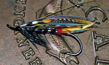 Black Doctor Atlantic Salmon Fly