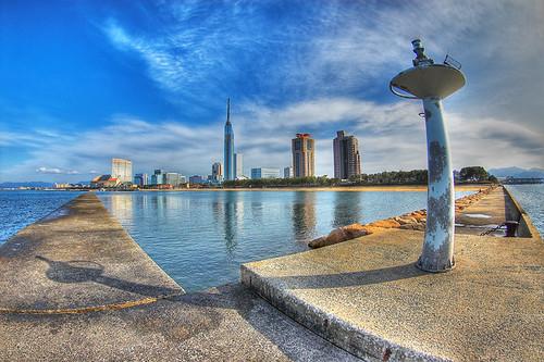 Fukuoka Tower by Issey4