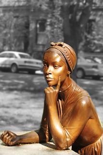 Statue of Phillis Wheatley