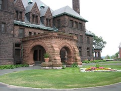 Back Entrance to the James J. Hill Mansion