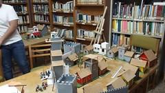 Escenografía Biblioteca de Hernán-Pérez