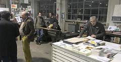 Il reparto stampa