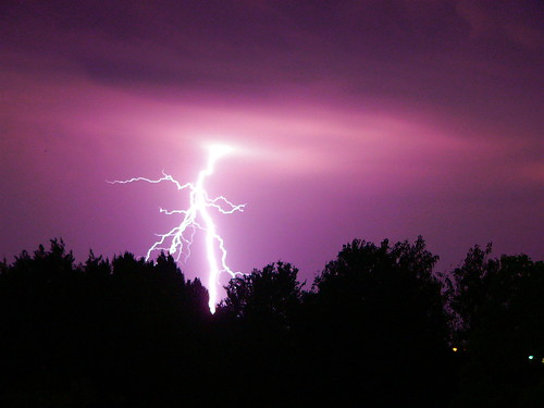 pink lightning