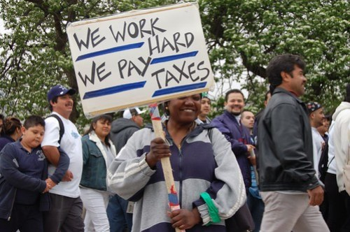 Chicago Immigration Reform Protest - HR4437
