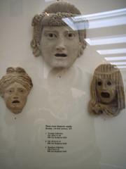 British Museum drama masks