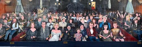 Mural Pintado en Hollywood
