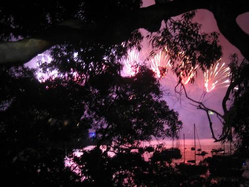 Sydney New Year's Fireworks 2007