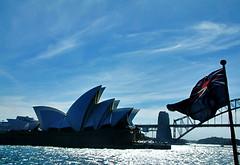 Opera House/Australian Flag