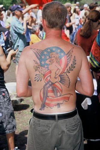 Back Tattoo Eeyore's 43rd Birthday